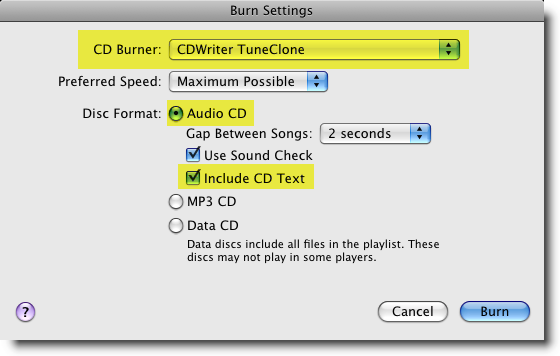 transfer iTunes music to Archos MP4 Player