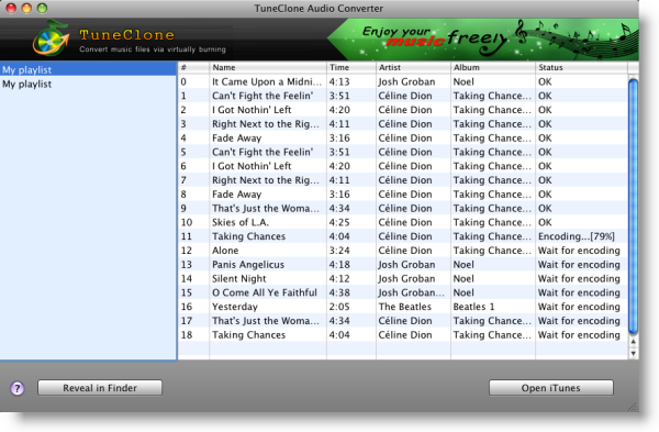 TuneClone for Mac