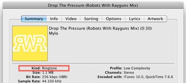 custom iPhone 5 ringtones