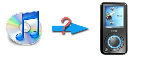 How to Convert iTunes M4P M4A AAC to MP3 for SanDisk Sansa